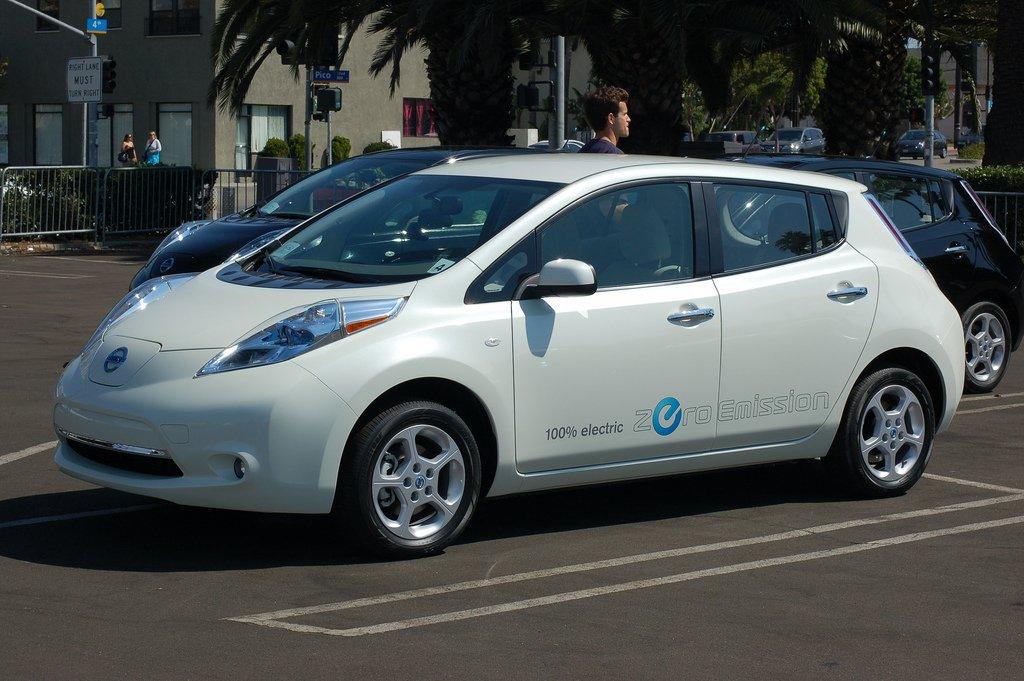 Der erfolgreichste Elektrowagen der Welt: der Nissan Leaf.