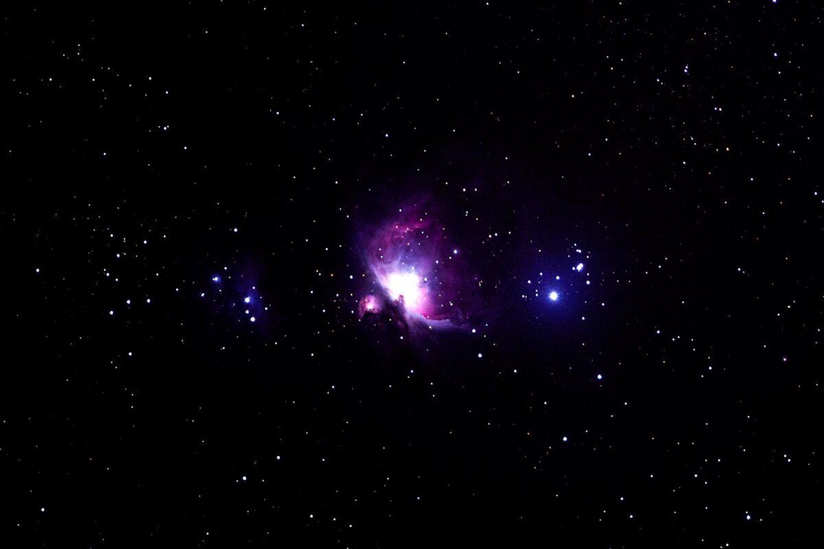 Foto des Orion-Nebel