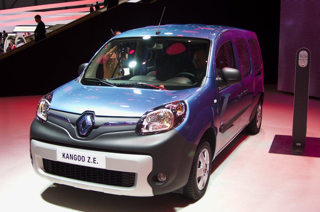 Renaults Elektro-Kastenwagen, der Kangoo.