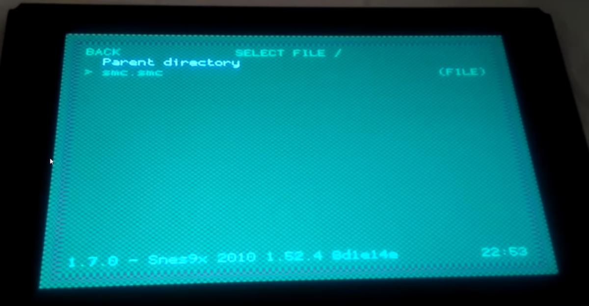 SNES-Emulator auf einer Nintendo Switch