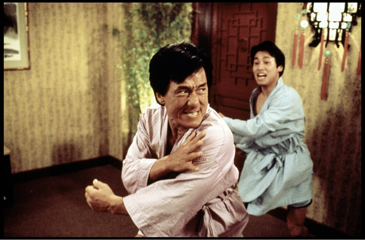 Jackie Chan in Rush Hour 2.
