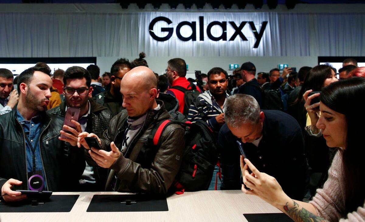 Eine Show für Samsung Galaxy Smartphones.