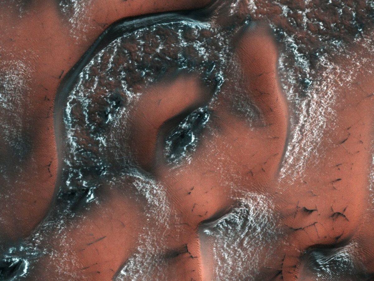 Dünen auf dem Mars
