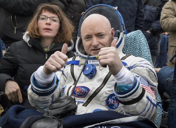 Freunde und Familie hat Astronaut Scott Kelly im All am meisten vermisst.