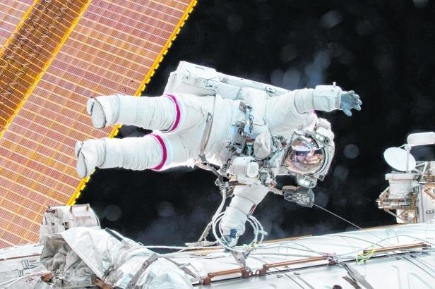 Astronaut Scott Kellys letzter Einsatz auf der ISS dauerte 340 Tage.