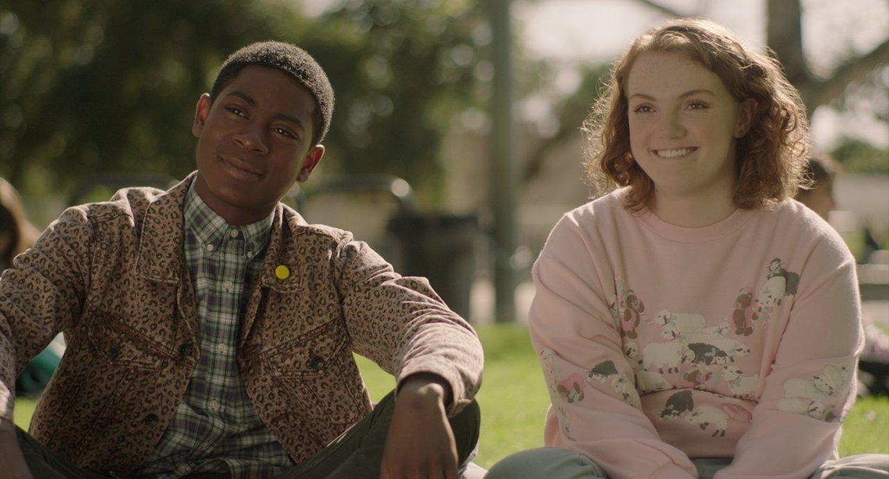 """Shannon Purser in """"Sierra Burgess is a Loser"""" auf Netflix."""