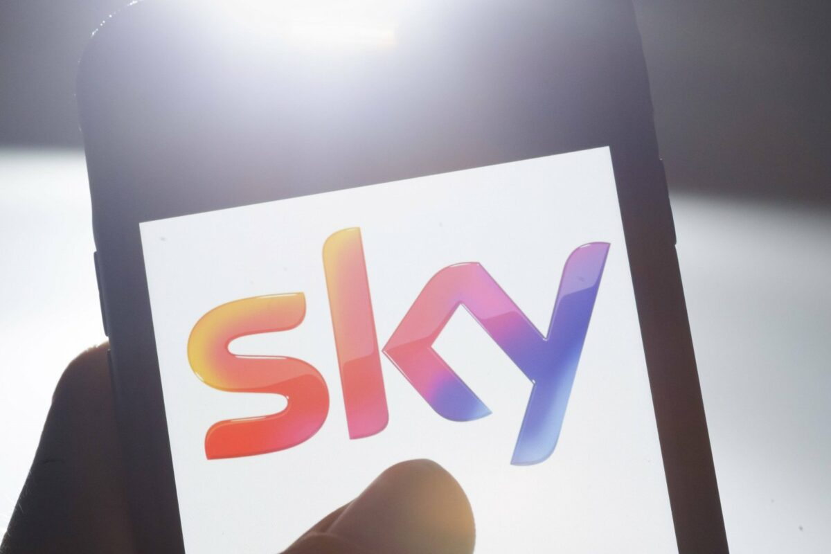 Sky-App auf dem Handy