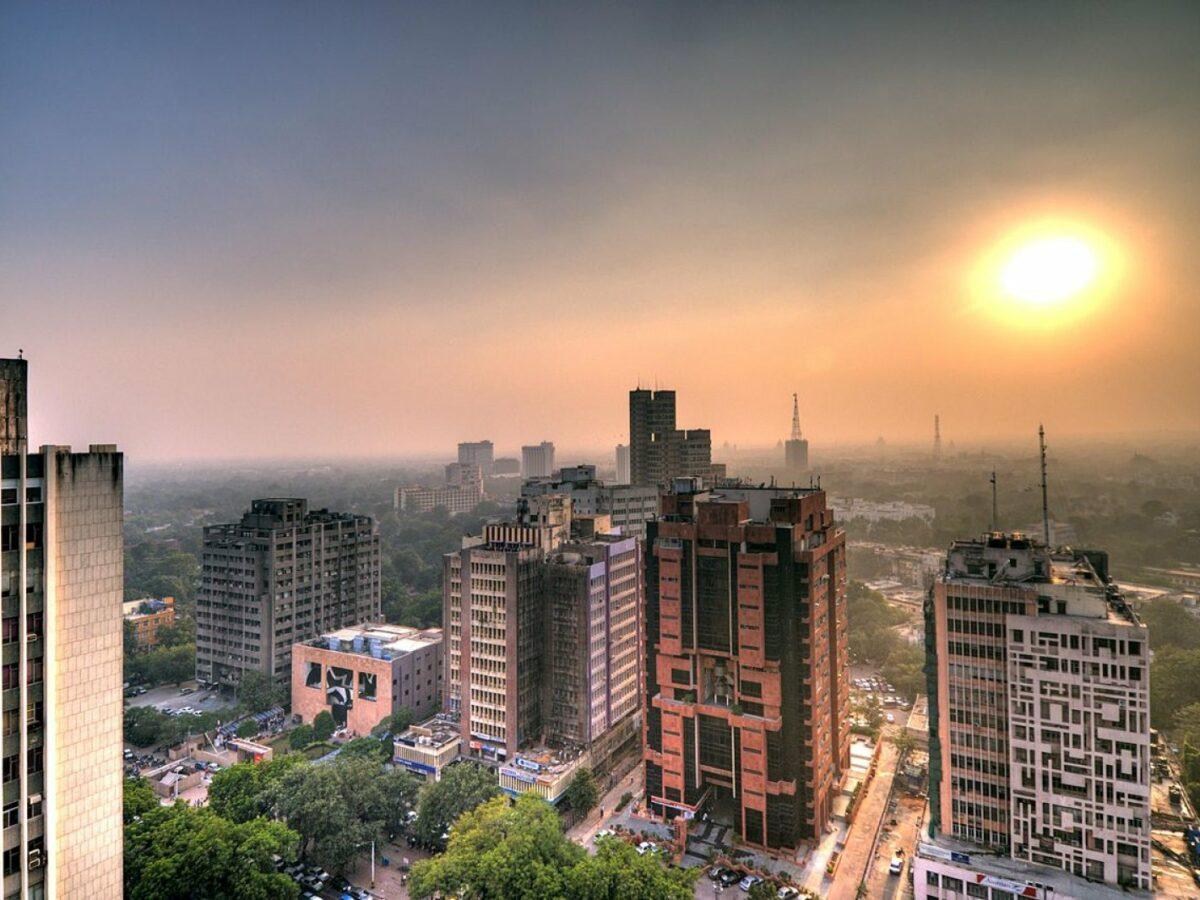 Smog über Delhi