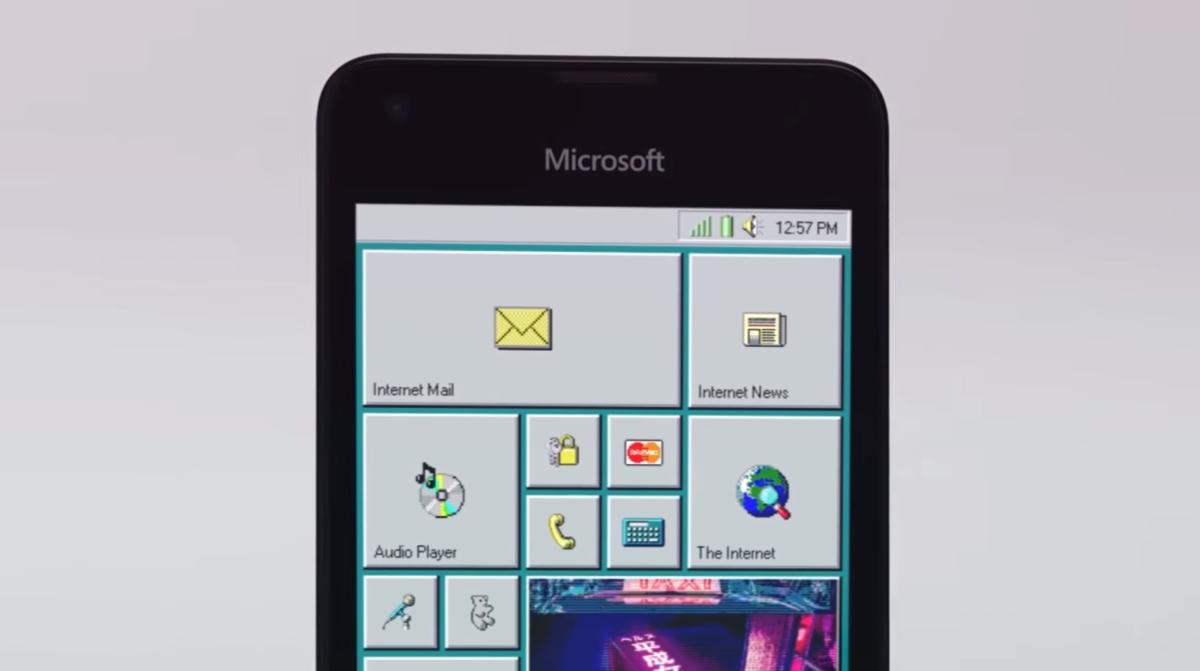 Smartphone mit Windows 95