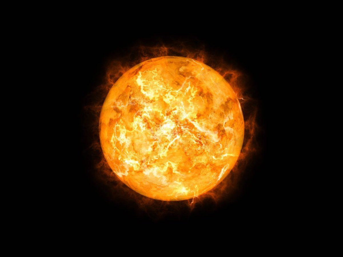 Unsere Erde bekommt eine gute Dosis von der Sonnenwärme ab.
