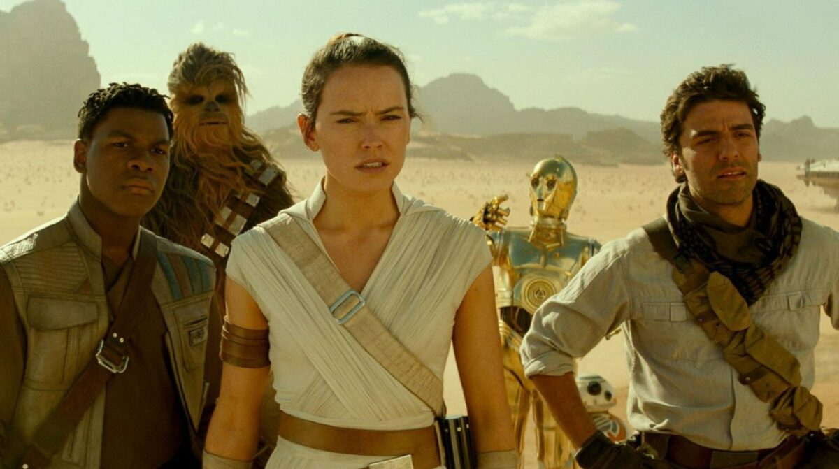 Star Wars 9  Finn Rey Poe