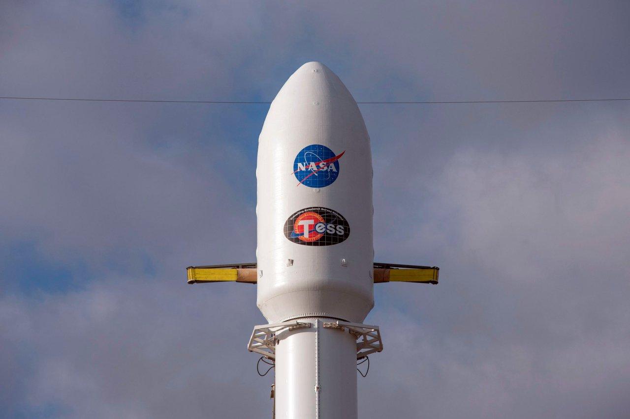 Der Satellit TESS ist erfolgreich gestartet.