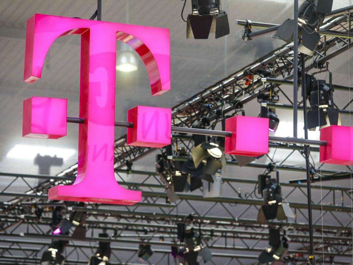 Logo von der deutschen Telekom