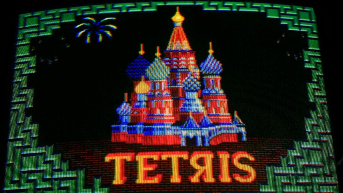 Tetris auf einem Screen