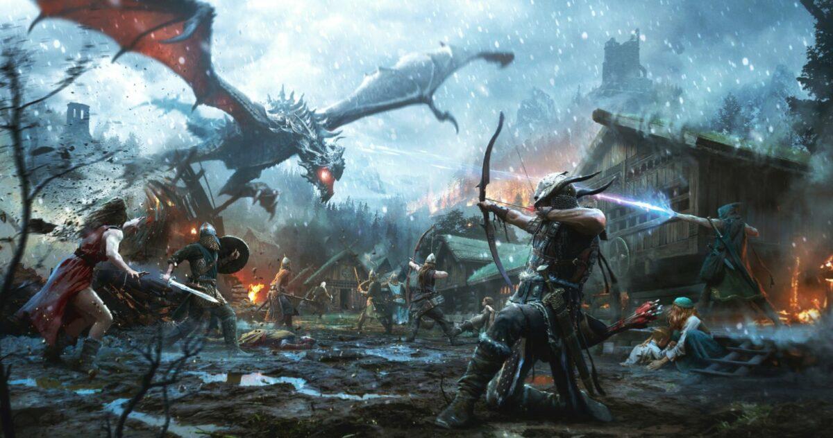 """The Elder Scrolls: Legends"" Artwork"
