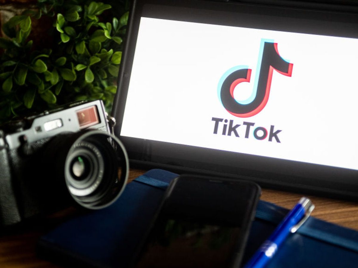 TikTok-und-Kamera