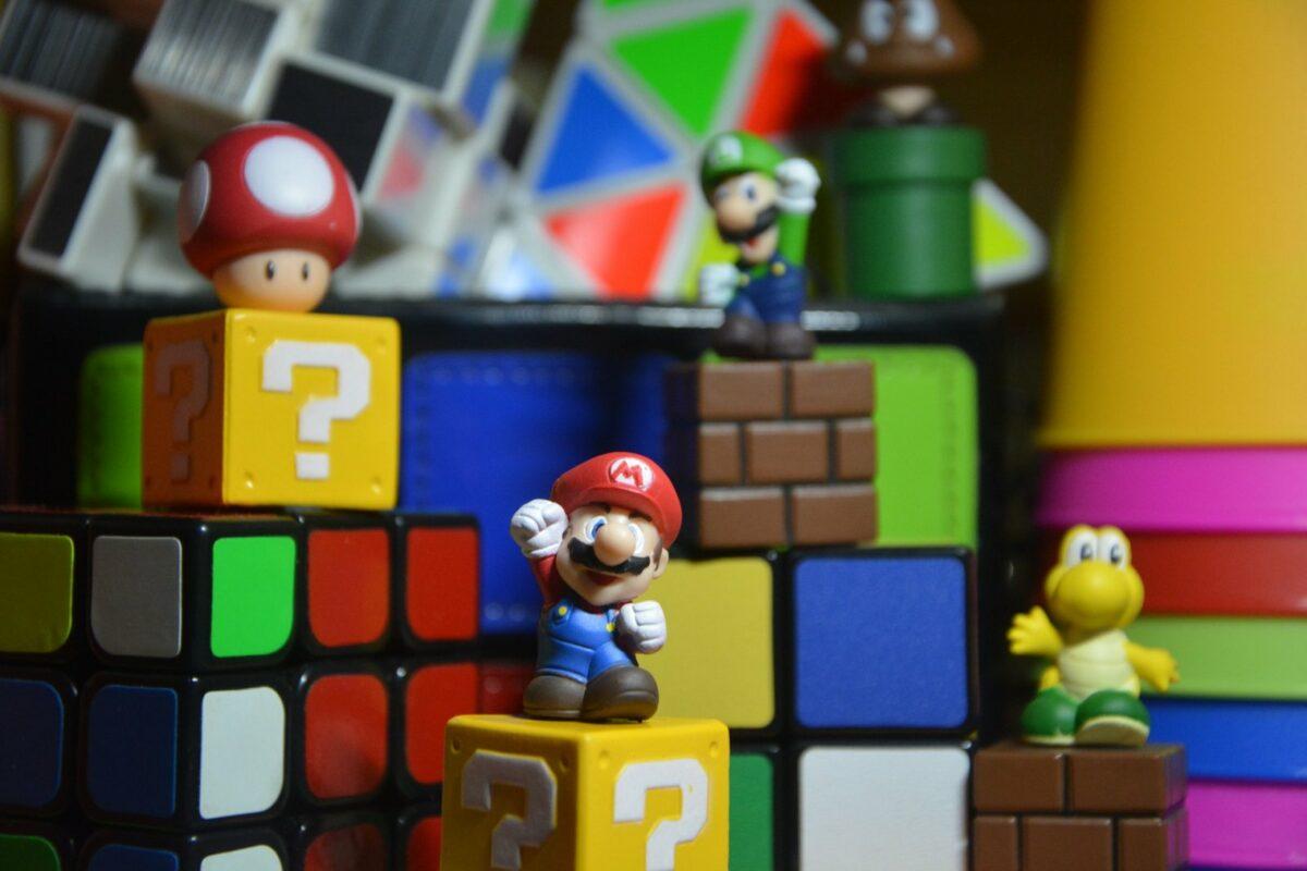 Spielfiguren Mario