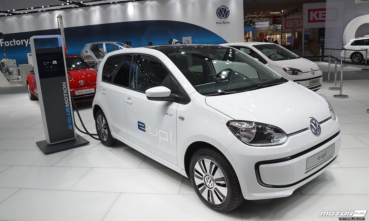 VWs kleinsten gibt es auch mit Elektroantrieb.