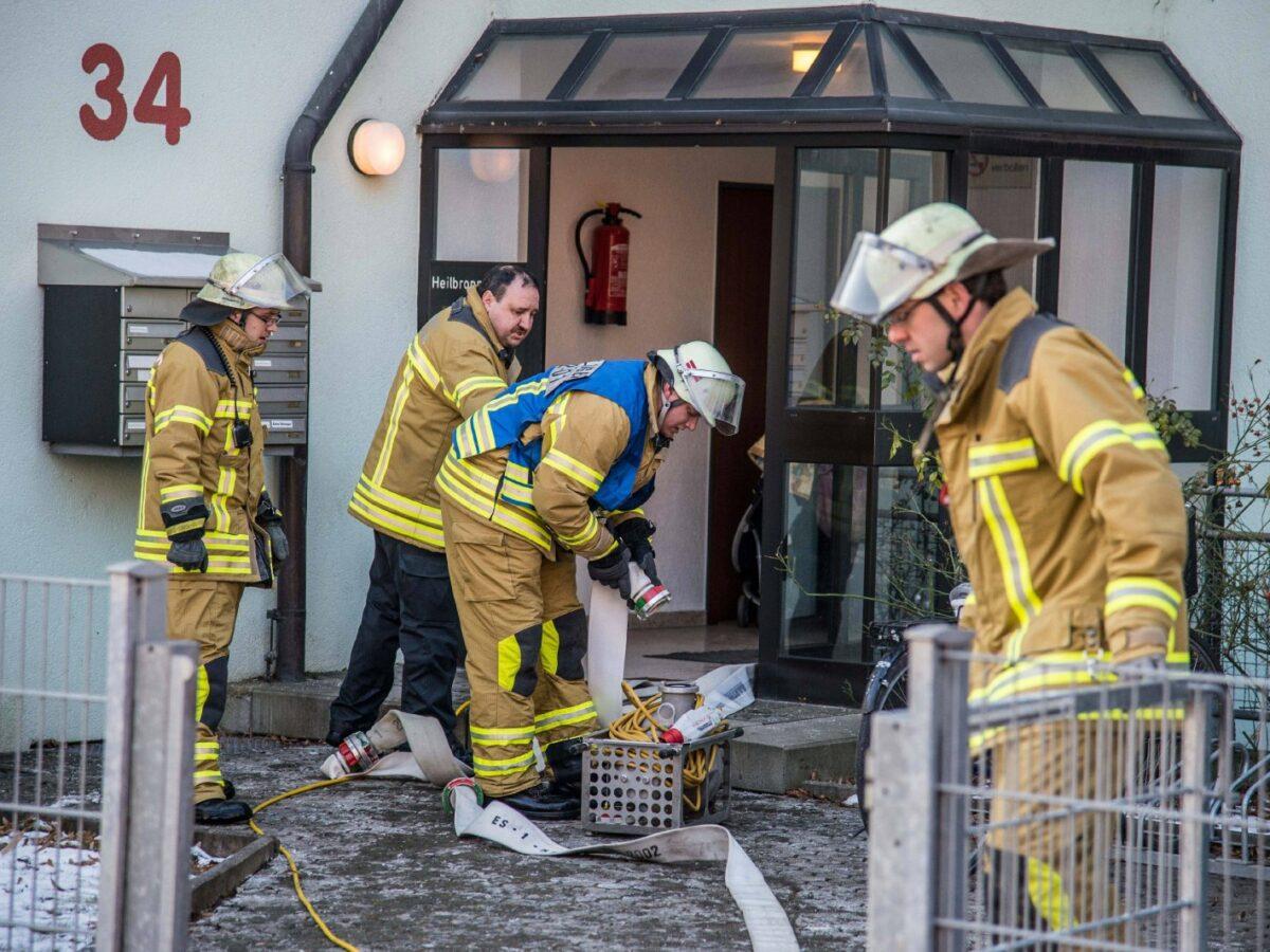 Feuerwehr Wasserrohrbruch