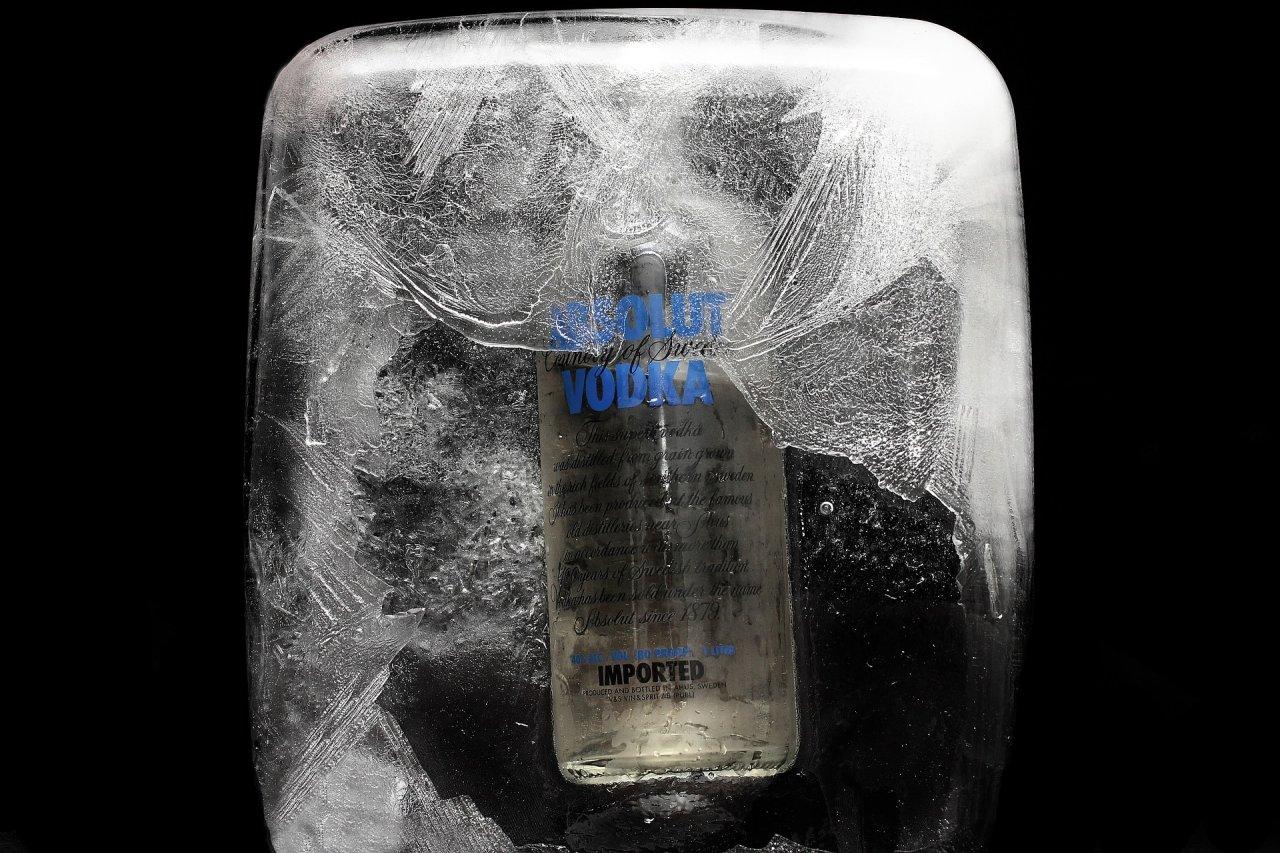 Wodka im Eisfach lagern? Keine gute Idee.