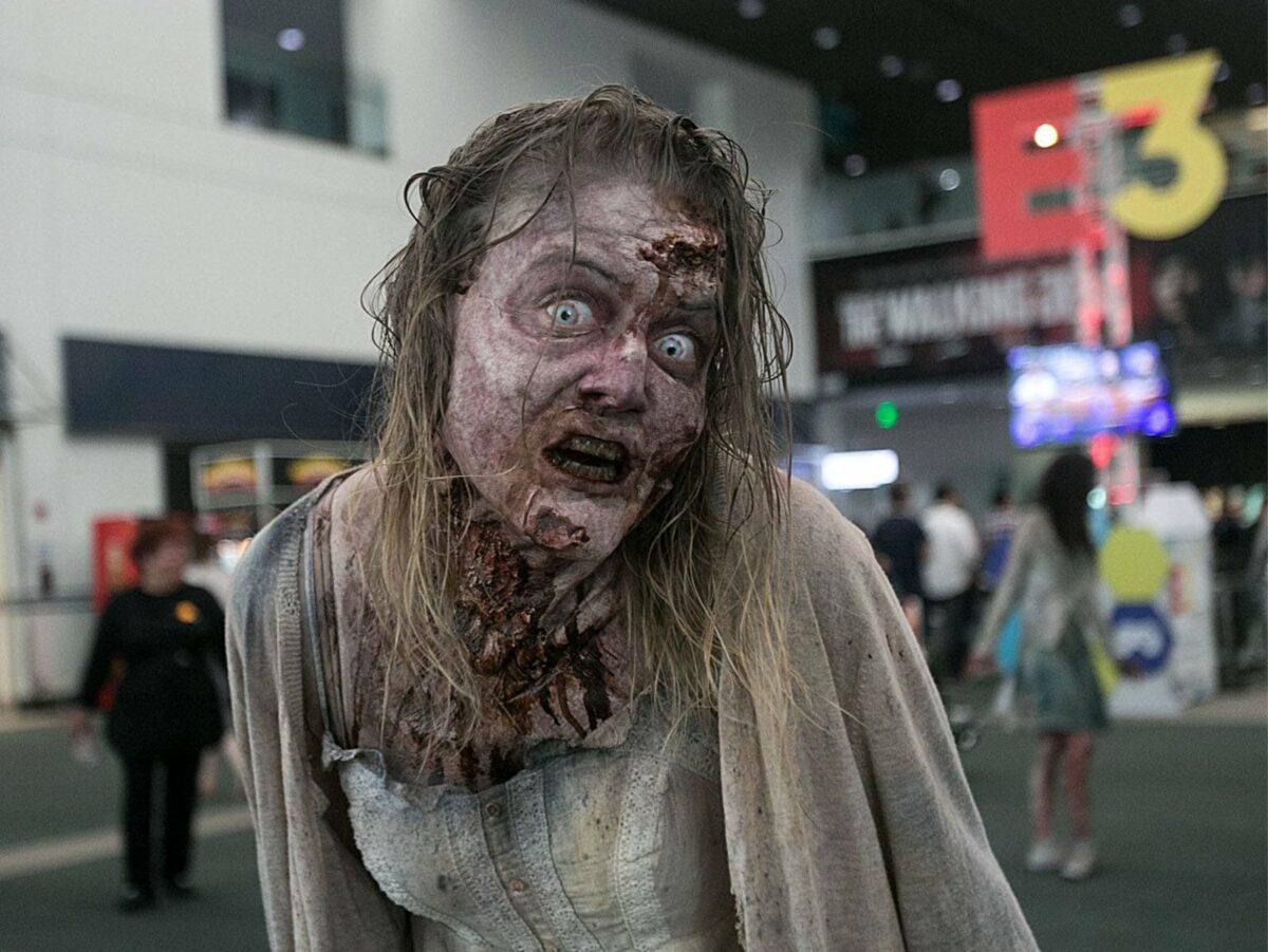 Zombie auf der E3