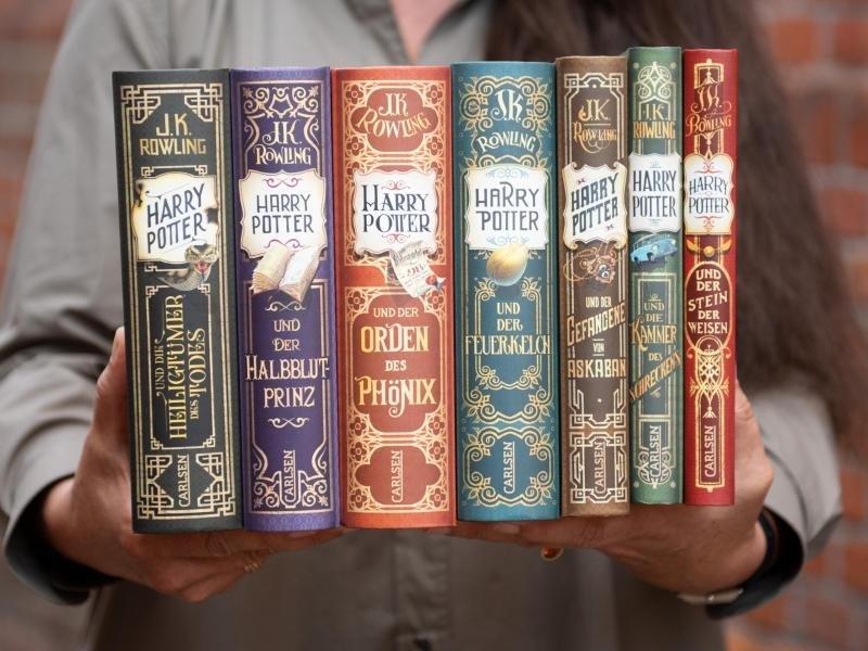 """Lies oder stream mal wieder die """"Harry Potter""""-Reihe."""