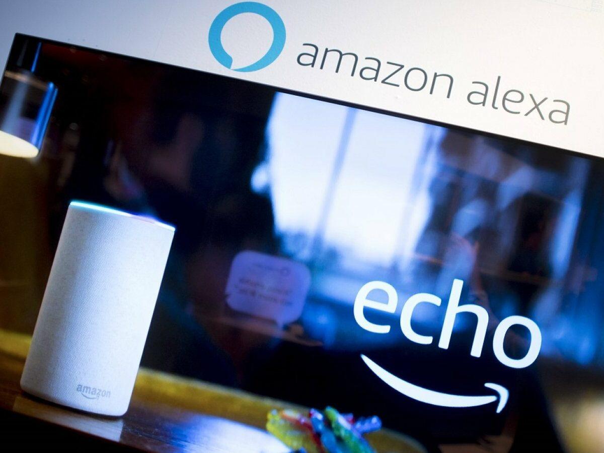 Amazon Alexa auf dem TV.