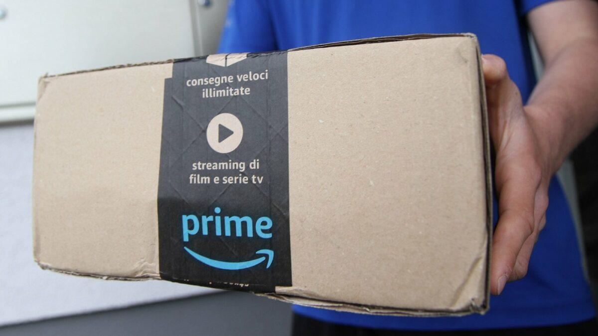 Ein Amazon-Paket.