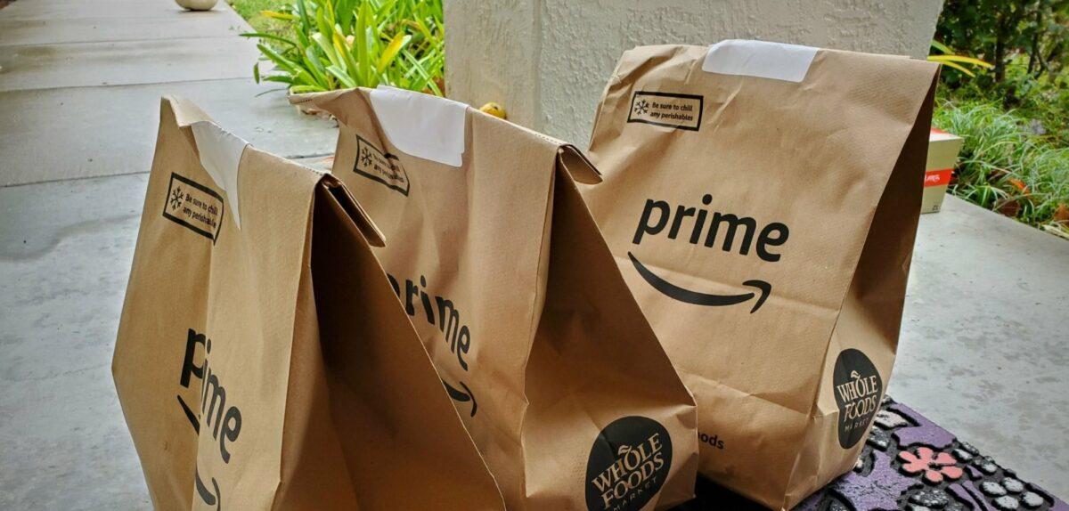 Amazon Prime Now-Tüten