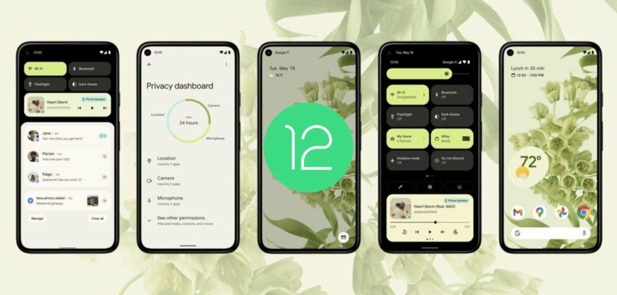 Android-12-Vorschau