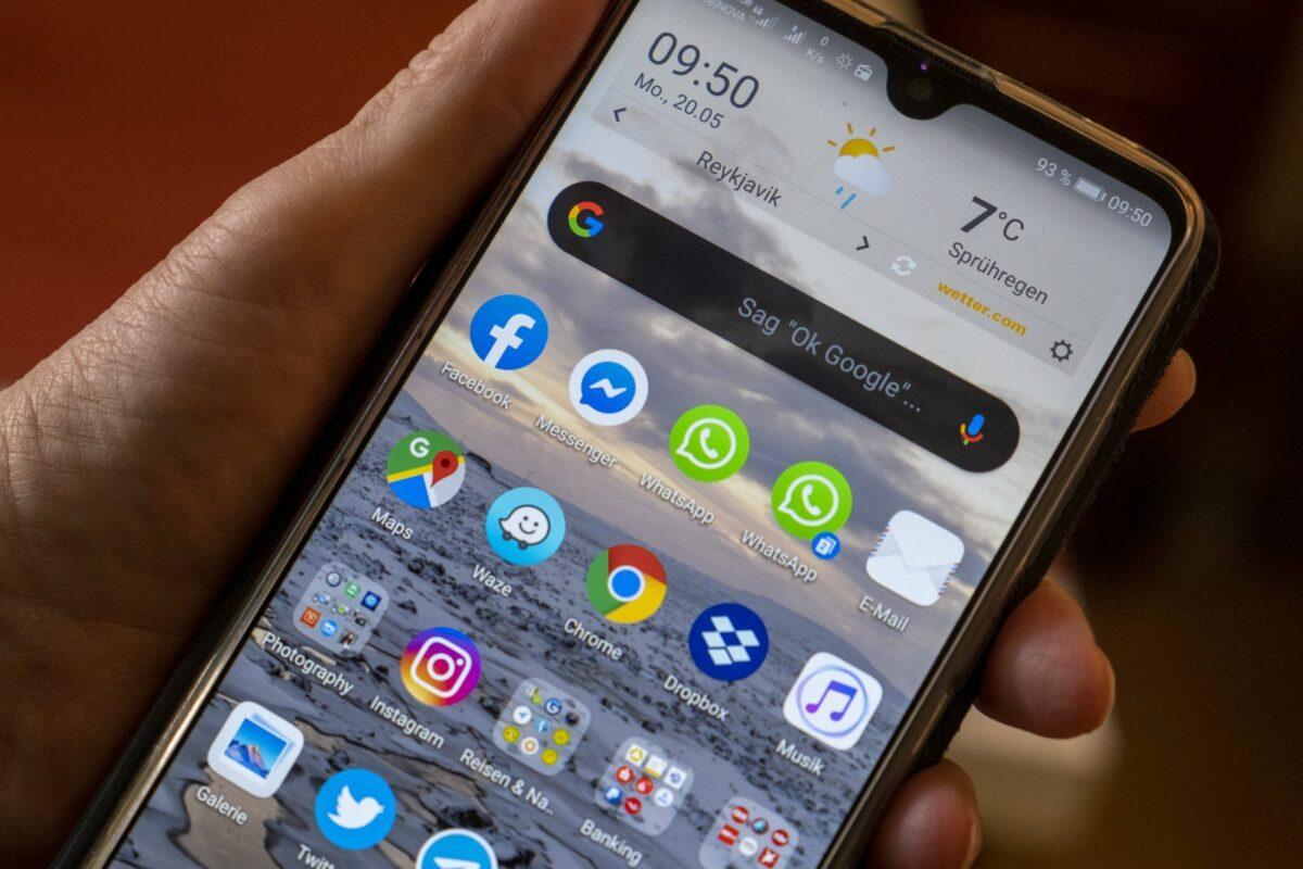 Android-Apps auf einem Handy