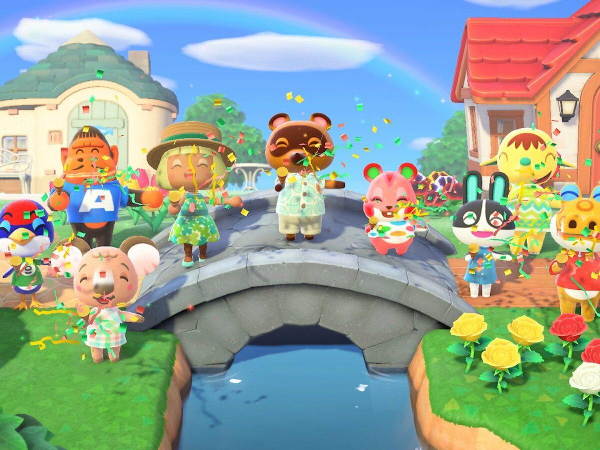 """""""Animal Crossing: New Horizons"""" (2020) Screenshot"""