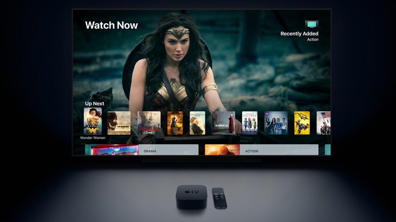 Apple TV unterstützt auch Amazon Prime nativ.