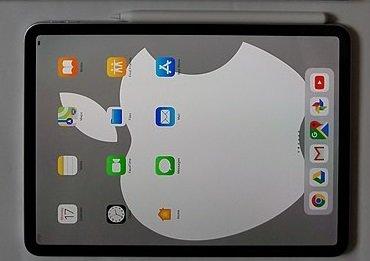 Den Apple Pencil 2 muss man zum Laden nur an die rechte Seite des iPads anlegen.