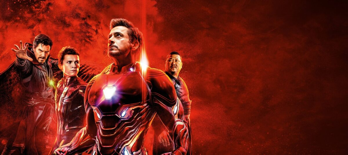 """Avengers: Infinity War"" Filmplakat."