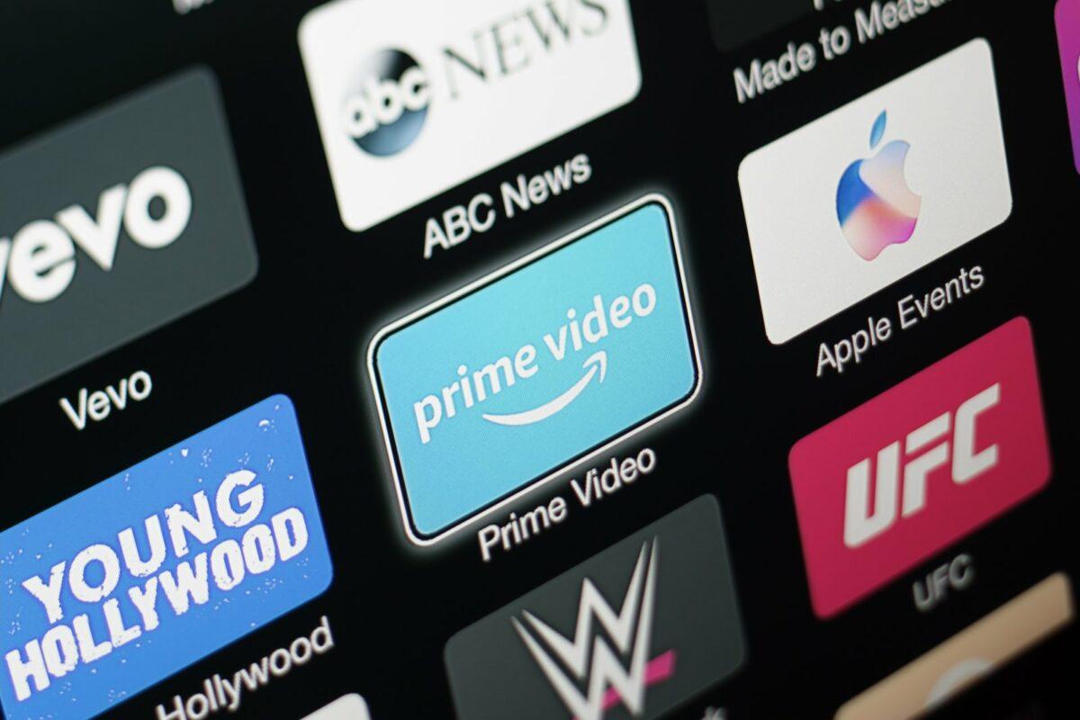 Amazon Prime Video auf einem Fernseher