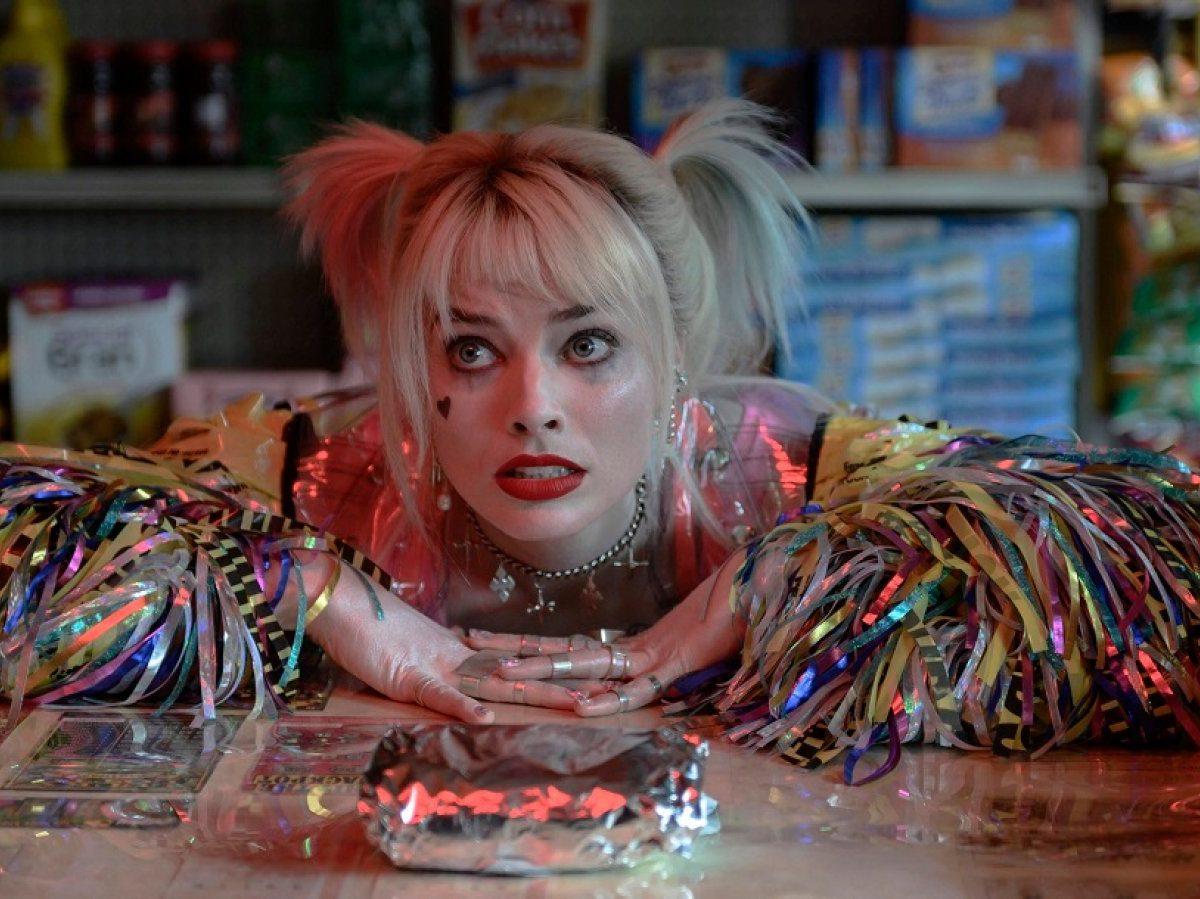 Margot Robbie als Harley Quinn in Birds Of Prey.