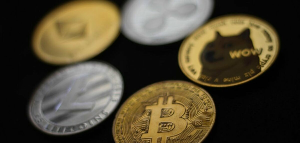 Kryptowährungen als physische Coins