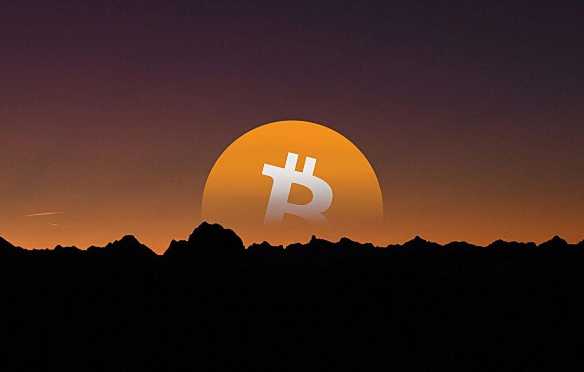 Bitcoin versinkt hinter dem Horizont