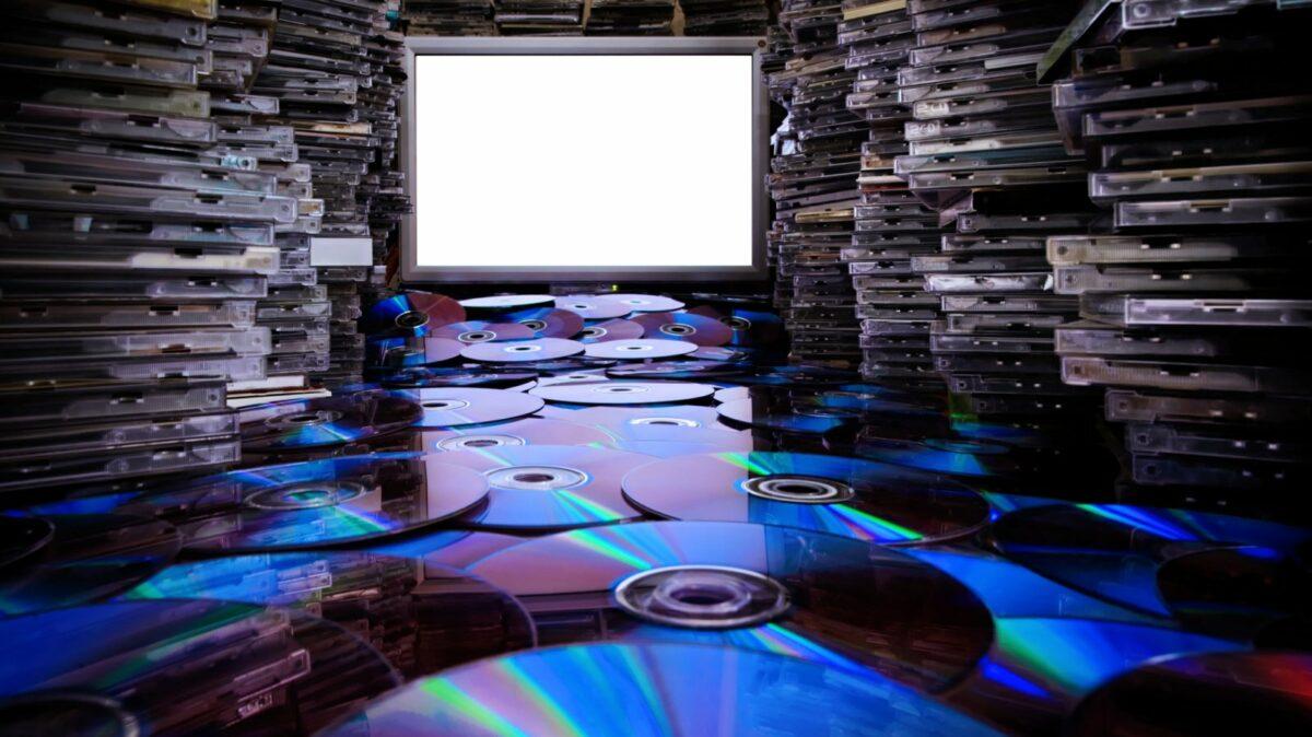 Sehr viele CDs