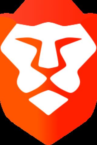 Sei ein Löwe: Das Logo des Brave Browsers.