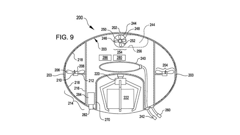 Die Lagerdrohne hatte Amazon bereits vor drei Jahren zum Patent angemeldet.