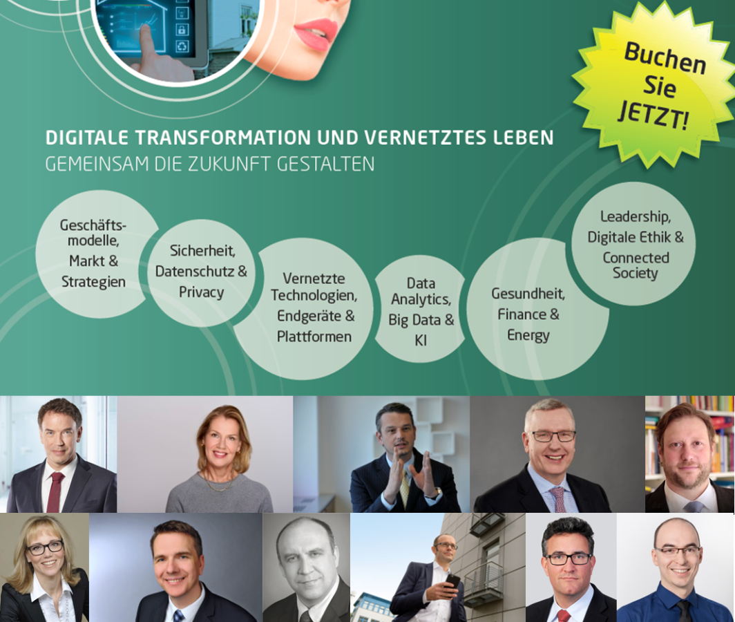 Flyer zur 4. Connected Living ConnFerence