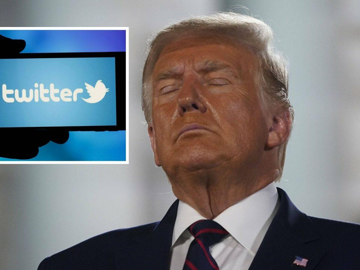 Donald Trump und Twitter.