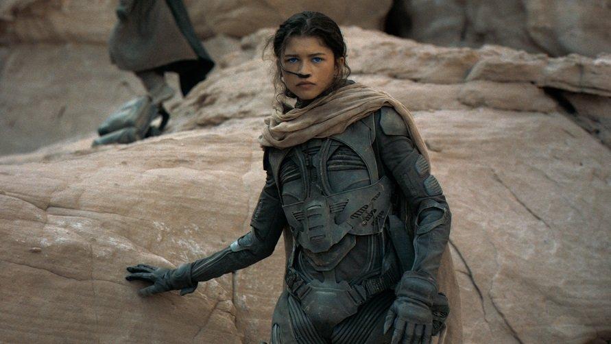 """Zendaya als Chani in """"Dune""""."""