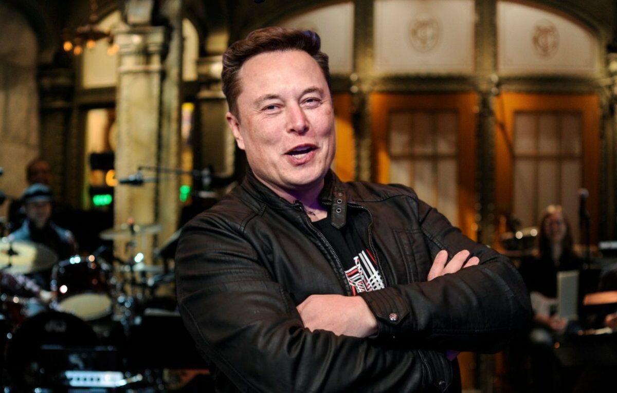 "Elon Musk bei ""Saturday Night Live"""