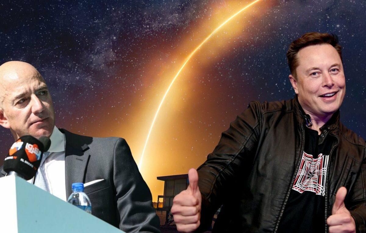 Elon Musk und Jeff Bezos