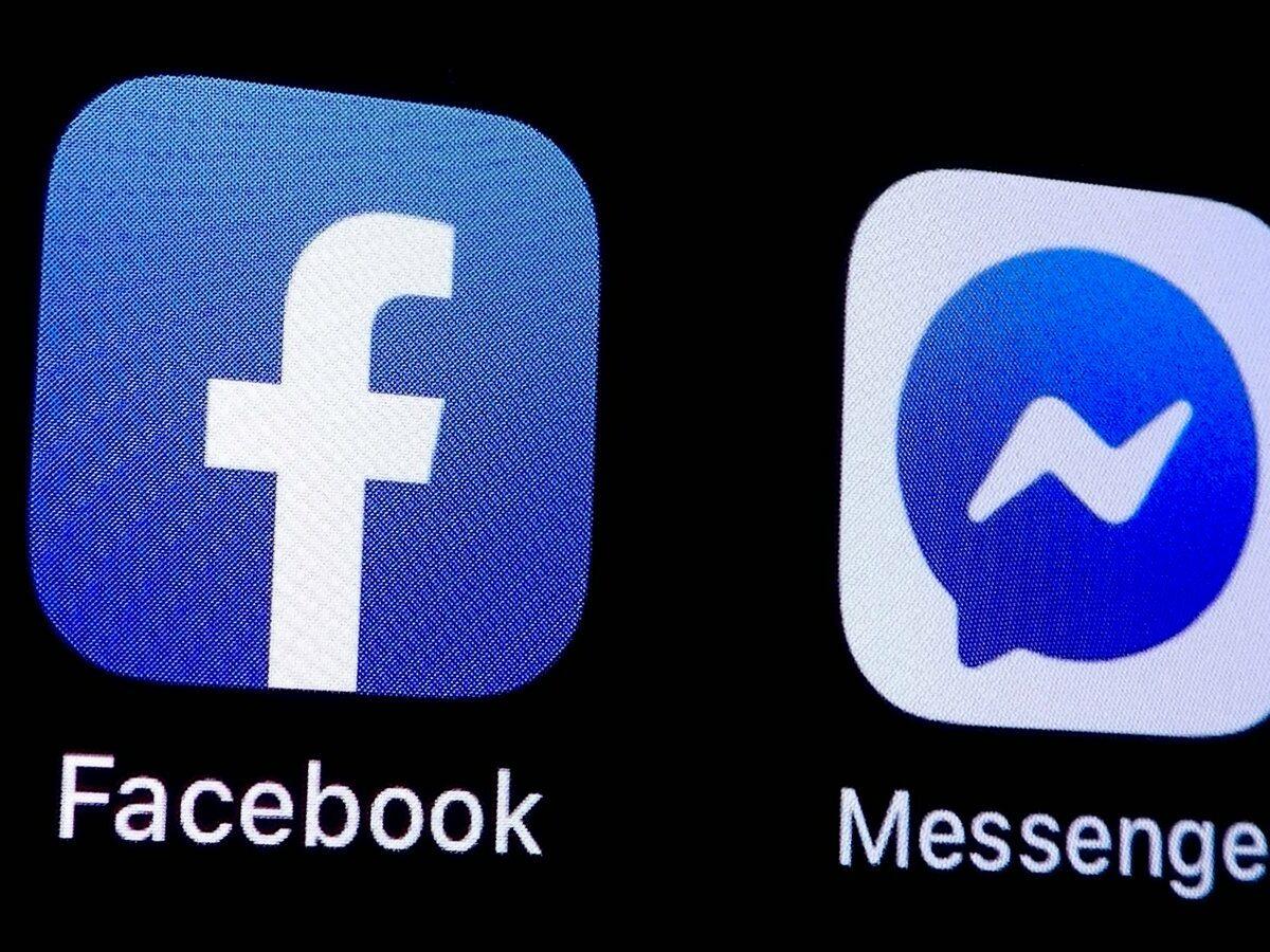 Facebook- und Messenger-App.