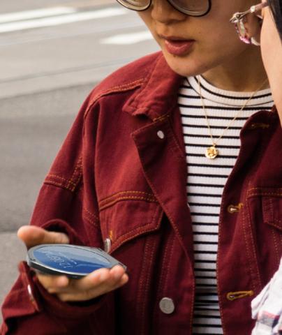 """Mit dem """"Cyrcle phone"""" will ein Start-up einen Trend für Handys im Jahr 2020 begründen: Das runde Design."""