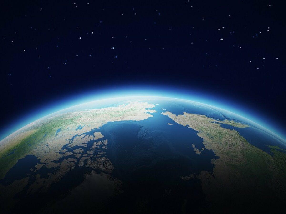 Die Erde.